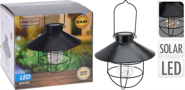 Solcelle lampe
