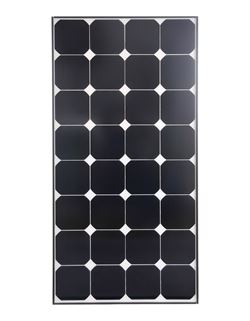"Solcellesæt ""DCsolar Powerset 110"" - komplet kit."