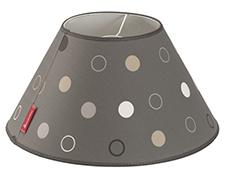 Isabella lampeskærm Black Chintz | Lampeskærm til fortelt
