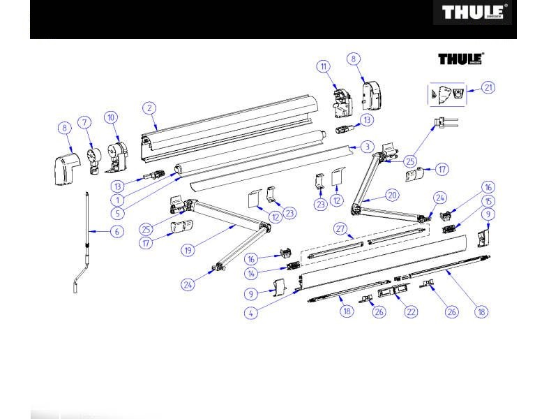 Thule Reservedele